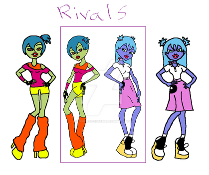 MH Rivals by Princess-Rose305