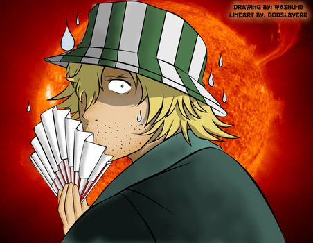 Epic Kisuke on a sillly trip to meet Mr. Sun by 16thSquadFukutaicho