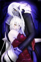 Zyn and Aii by Scarielle