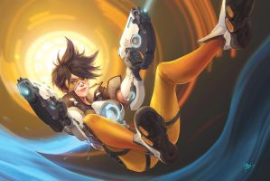 largeposter Tracer small by koloromuj