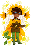 PK: Sunflower Hero by Spirit-Okami