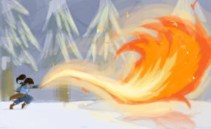 Legend of Korra: Fire and Snow by OuranBleachVamps