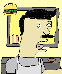 Burger Bob by SteampunkTyrannosaur