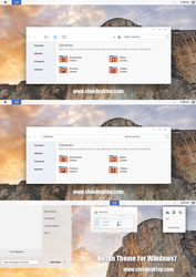NoYan Theme For Windows 7 by Cleodesktop