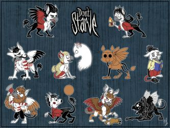 Dont Starve Gryphons by Goldy--Gry
