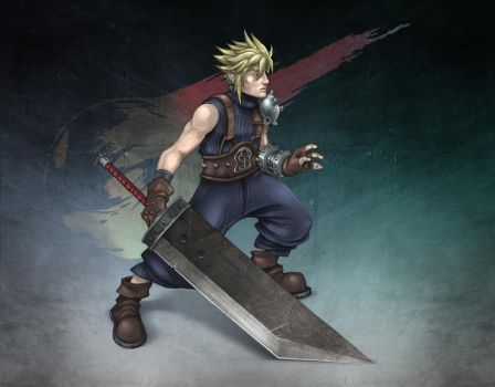 Cloud Strife FF7 by HuntingTown