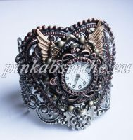 Steampunk watches dis.2013 II by Pinkabsinthe