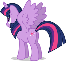 Mlp Fim Twilight Sparkle (...) vector #2 by luckreza8