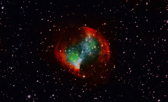 Dumbbell-Nebula by FraterSatyr