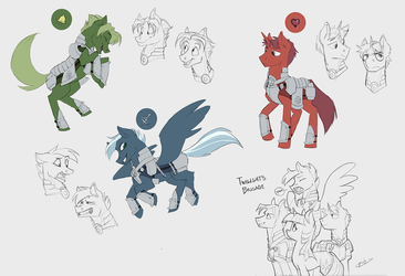 Sketch Dump by Bypenandhoof