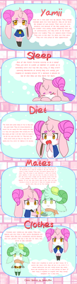 Yamii Overview Guide :Closed Species: by x-SpookyBoo-x
