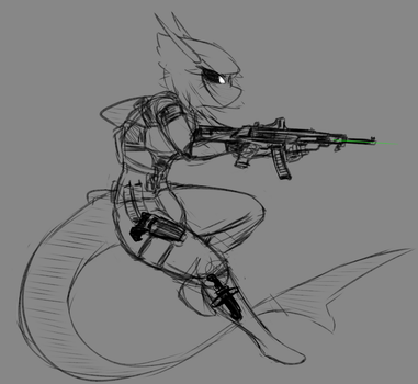Sketch: Drift by ThaBrokenSword