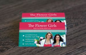 Business Card for Florist by ClementineCreative