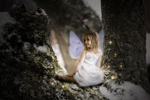 Snow Drop Fairy by leapyearbaby