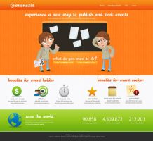 Evenesia Web by suicidekills