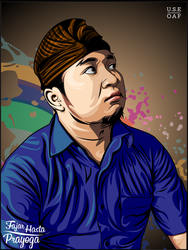 MR.FAJAR HASTA PRAYOGA IN VECTOR by Yusuf-Graphicoholic