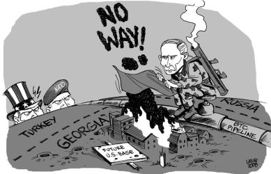 Russia Georgia conflict 3 by Latuff2