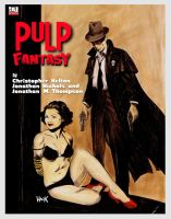 Pulp Fantasy RPG Cover by RobertHack