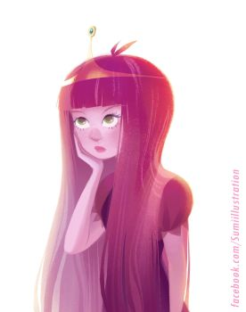 Adventure Time - Princess Bubblegum 2 by Blumina