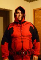 Finished Deadpool Hoodie Open by Linksliltri4ce