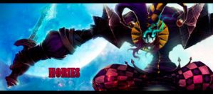 Shaco League of Legends by aeli9