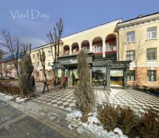 Gorky St. in Simferopol, Crimea, Jan. 17 2014 by anyword