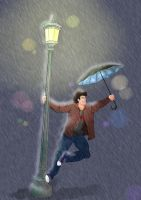 Markiplier: Singing in The Rain by scandinavianpinapple