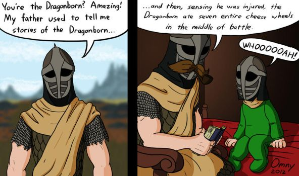 The Dragonborn Noms by Omny87