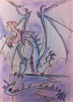 Ice Dragon by Viperwings