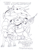 Pokemon Wars: The Maximals by Blood-Asp0123