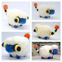 Mareep plush by Draxorr