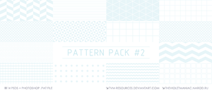 PATTERN PACK #2/+PAT FILE by tvm-resources