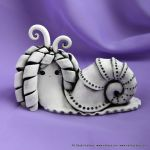 Magical snail by vavaleff