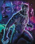 Black Panther by MonicaRavenWolf