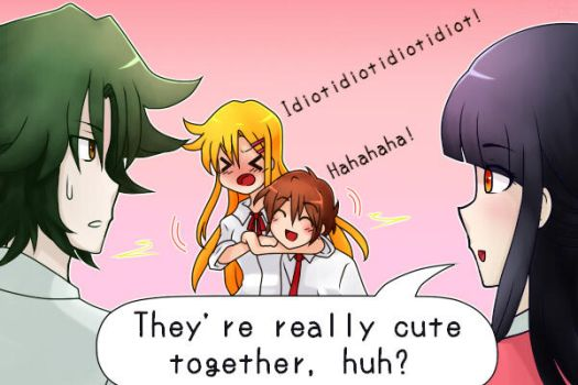 Misao's OTP by speckticuls