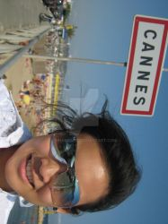 me at cannes by nharoshl