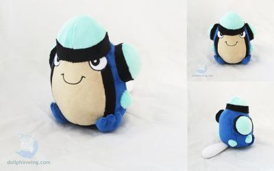 Palpitoad Plushie by dollphinwing