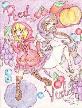Red and Violet by Coraline-176