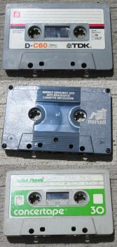 cassette tapes by insurrectionx