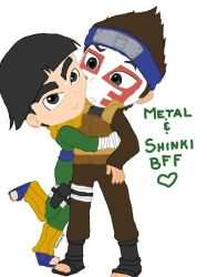 Metal and Shinki BFFs by DaMee-Momma