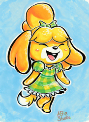Dress Isabelle by AltiaStudio