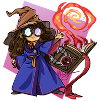 Commission #1: Adalia and Paper by The-Knick