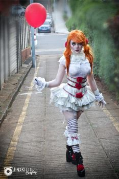 PENNYWISE COSPLAY by JinxKittieCosplay