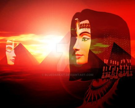The Queen on Dreamy Egypt