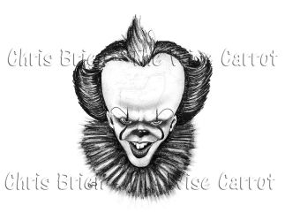 Pennywise 2017 by thewisecarrot