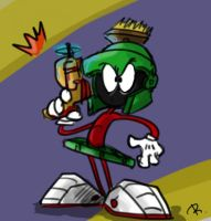 Marvin the Martian by Ayej