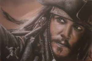 Jack Sparrow by sloggsy