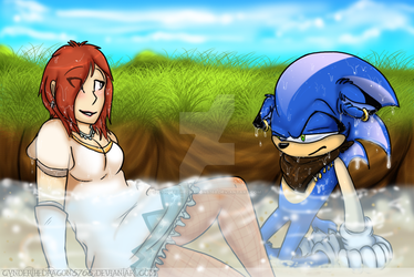 Sonic X Elise: Well played, Elise, well played. by Cynderthedragon5768