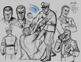 Richtofen Sketches by CarnivorousTwinkie
