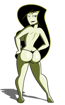 Commission: Dat Shego by grimphantom